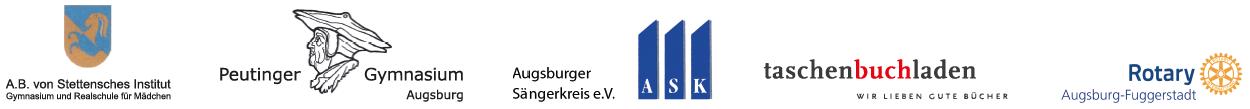 Stetten Peutinger ASK taschenbuchladen Rotary Augsburg-Fuggerstadt